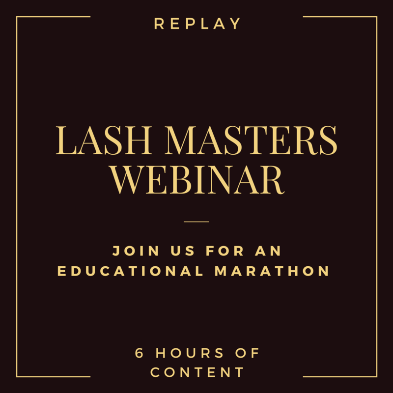 Lash Masters Online Conference / Webinar