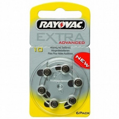 Rayovac Size 10 Batteries (Box of 60 Cells)