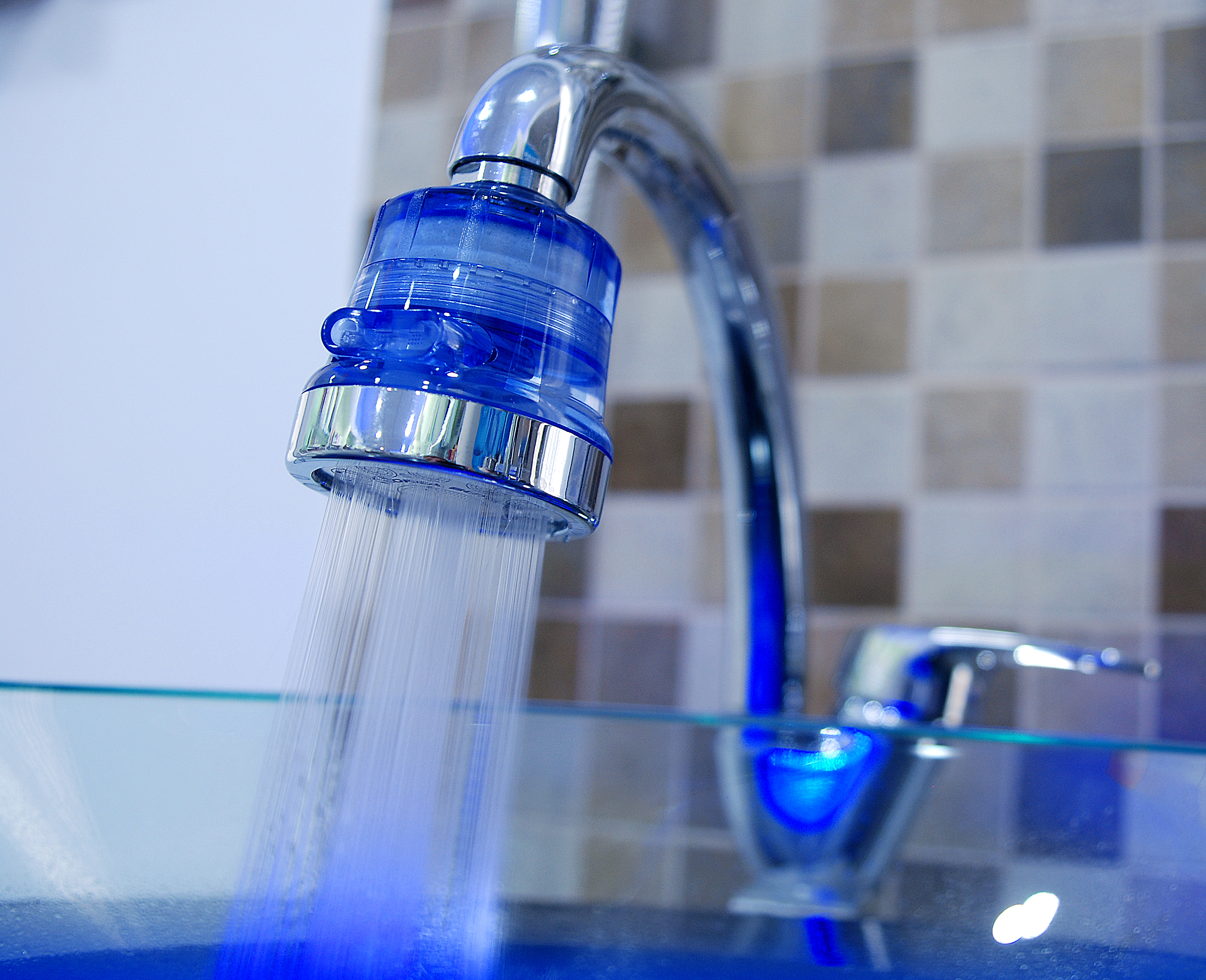 AquaDuo anion shower - Фильтр-насадка на кран 00022