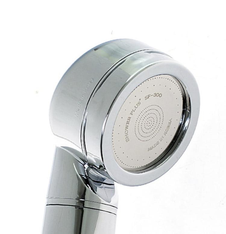 Душевая лейка с фильтром хромированная Shower Crystal Stream Silver 00019