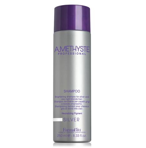 AMETHYSTE Осветляющий шампунь для седых и светлых волос Silver Shampoo