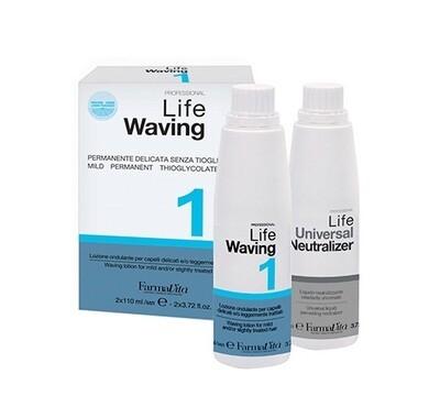 LIFE WAVING Химическая завивка с запахом цитруса на основе цистионина HCI без тиогликолевой кислоты и ее производных