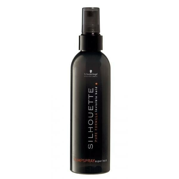 Schwarzkopf Professional / Silhouette Pure Pumpspray Superhold Спрей Ультрасильной фиксации, 200 мл