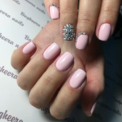 BN-01, Пастельный светло-розовый Гель-лак