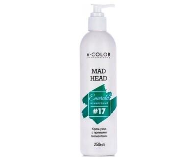 Крем для волос MAD HEAD изумрудный #17