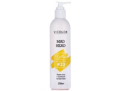 Крем для волос MAD HEAD жёлтый #33