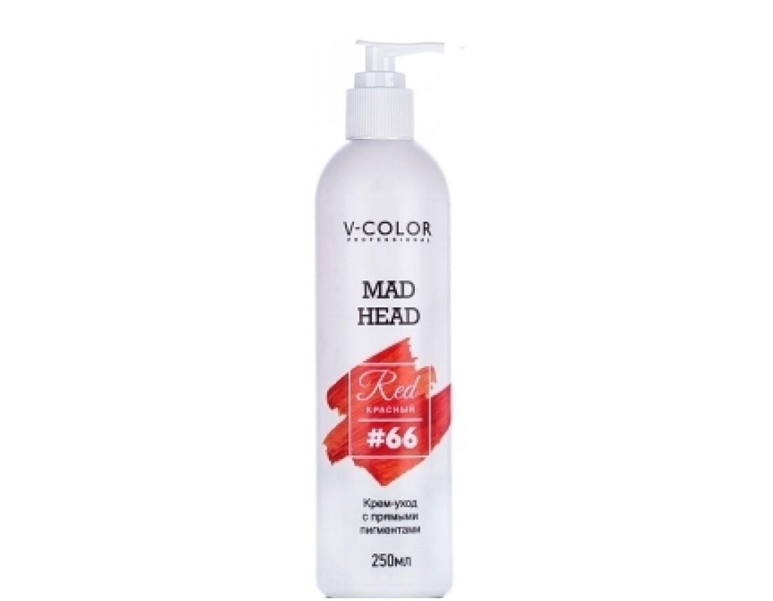 Крем для волос MAD HEAD красный #66
