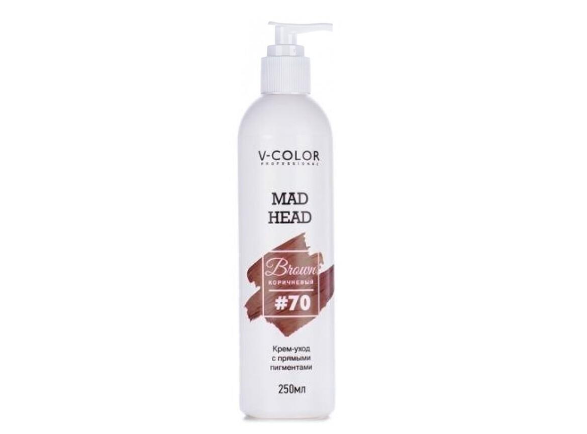 Крем для волос MAD HEAD коричневый #70