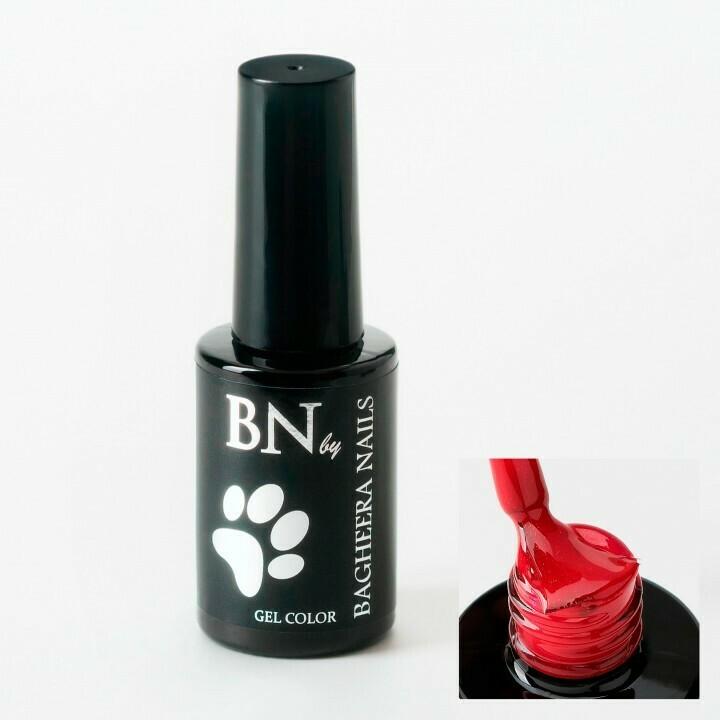 Гель-лак BN Red №04, 10мл