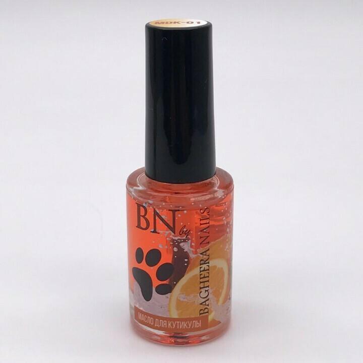 Масло для кутикулы BN №1, апельсин, 10мл