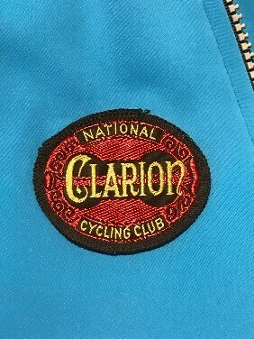 Clarion sew-on badge