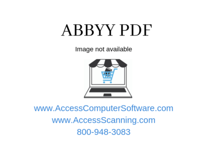 ABBYY FineReader PDF 15 Corporate, Volume License (per Seat), Perpetual, 5-10 Licenses