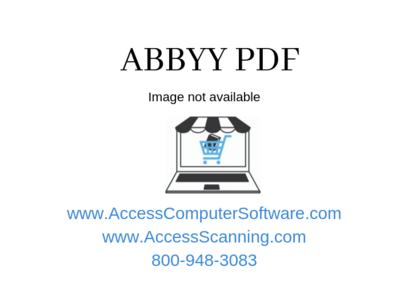 ABBYY FineReader 14 Enterprise EDUCATION
