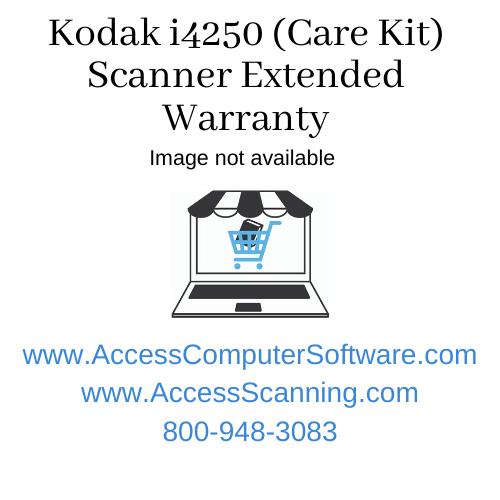 Kodak i4250 (Care Kit) Scanner Extended Warranty