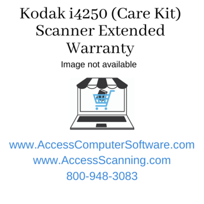 Kodak i4250 (Care Kit) Scanner Extended Warranty