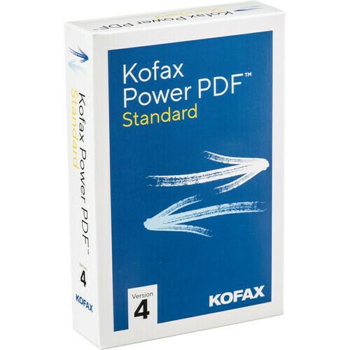 Kofax Power PDF 4 Standard