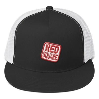 Red Square Trucker Cap