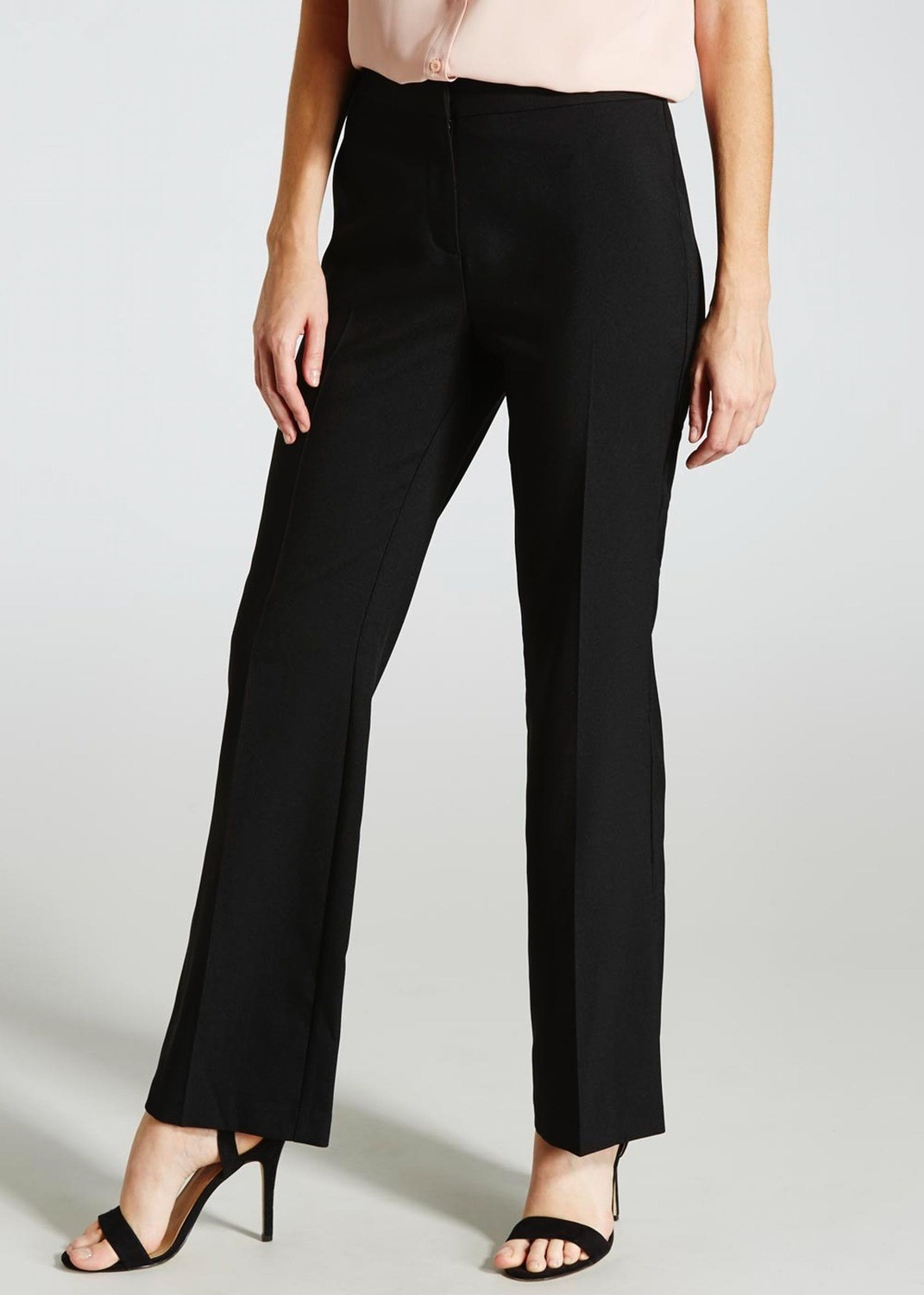Bootcut Trousers (31 Inch Leg) Papaya