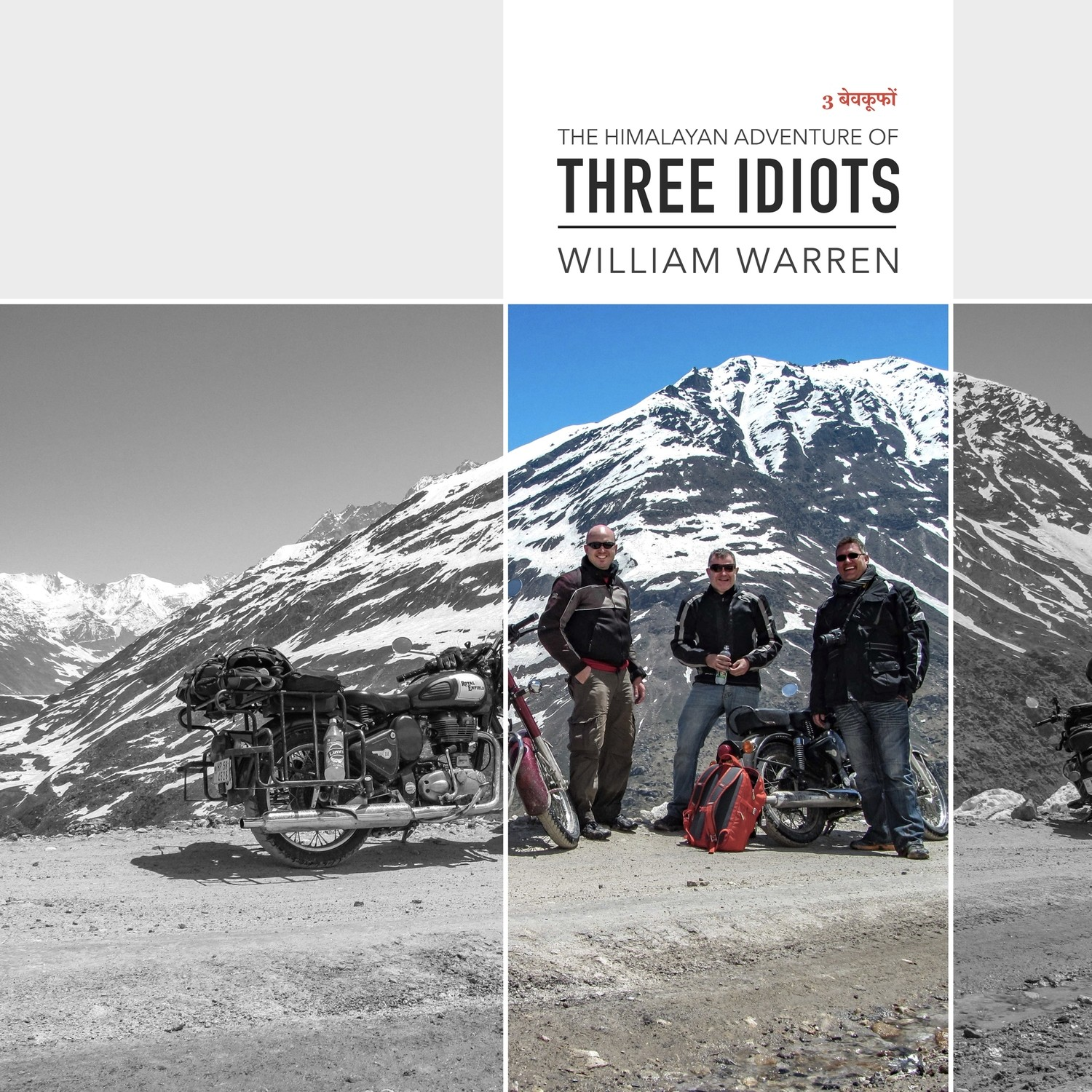 The Himalayan Adventure of Three Idiots - 210mm x 210mm High-quality Paperback (0.5kg)