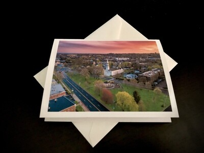 Greeting Cards -  The Green Norwalk, CT Limited Edition