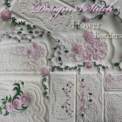 DASS0072-Flower Magic Borders