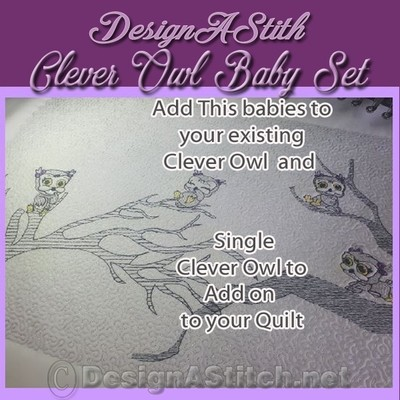 DASS001028-Clever Baby Owls
