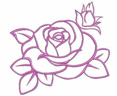 DASS001030-Single Rose