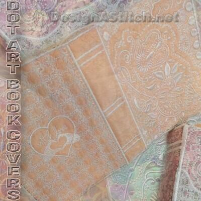 DASS001045-Dot Art Book Covers