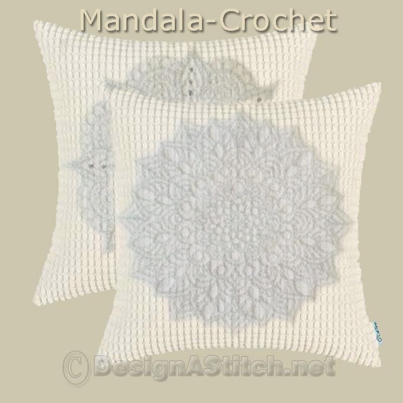 DASS001060-Mandala Crochet