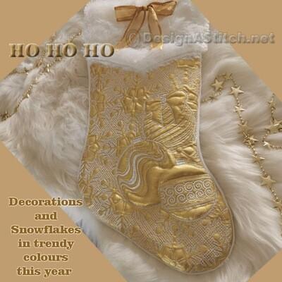 DASS001084-Christmas Stockings
