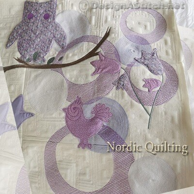 DASS001093-Nordic Quilting