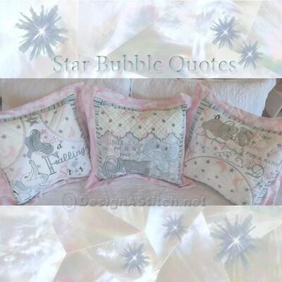 DASS00101030-Star Bubble Quotes - PRE ORDER