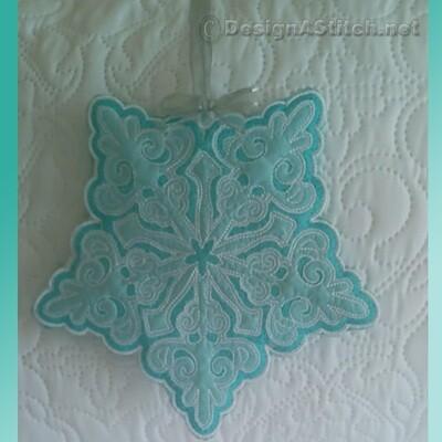 DASS00101034-1-Christmas Snowflake Ornament