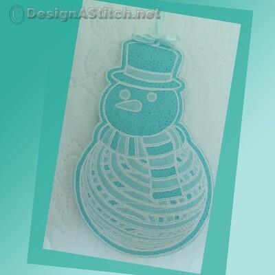 DASS00101034-3-Christmas Snowman Ornament