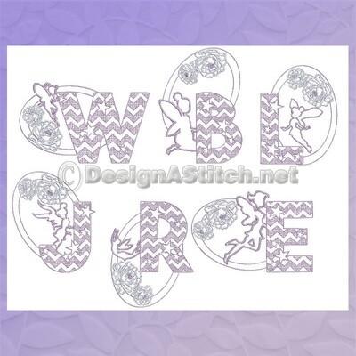 DASS00101033-Fairy Font Set