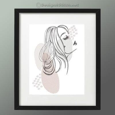 DASS00101059-2-Woman Line Art