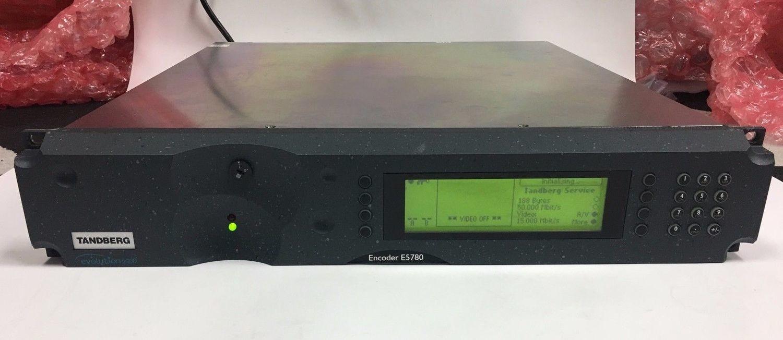 Tandberg Ericsson MPEG2 422 HD Encoder E5780 ATSC DVB 2U Rackmount ASI out