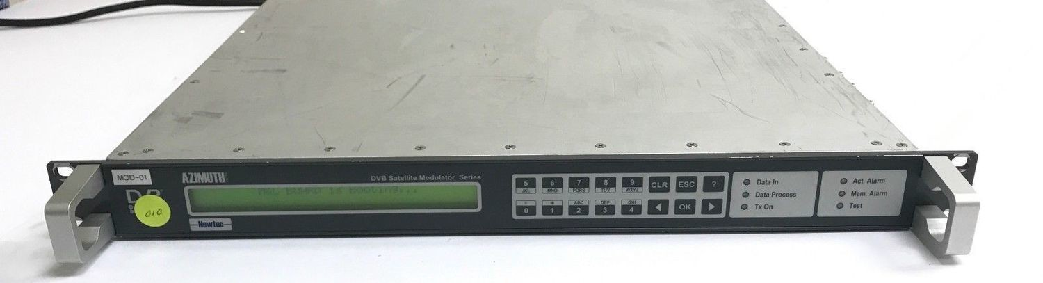 Newtec DVB-S L-band Satellite Modulator NTC/2177.xA