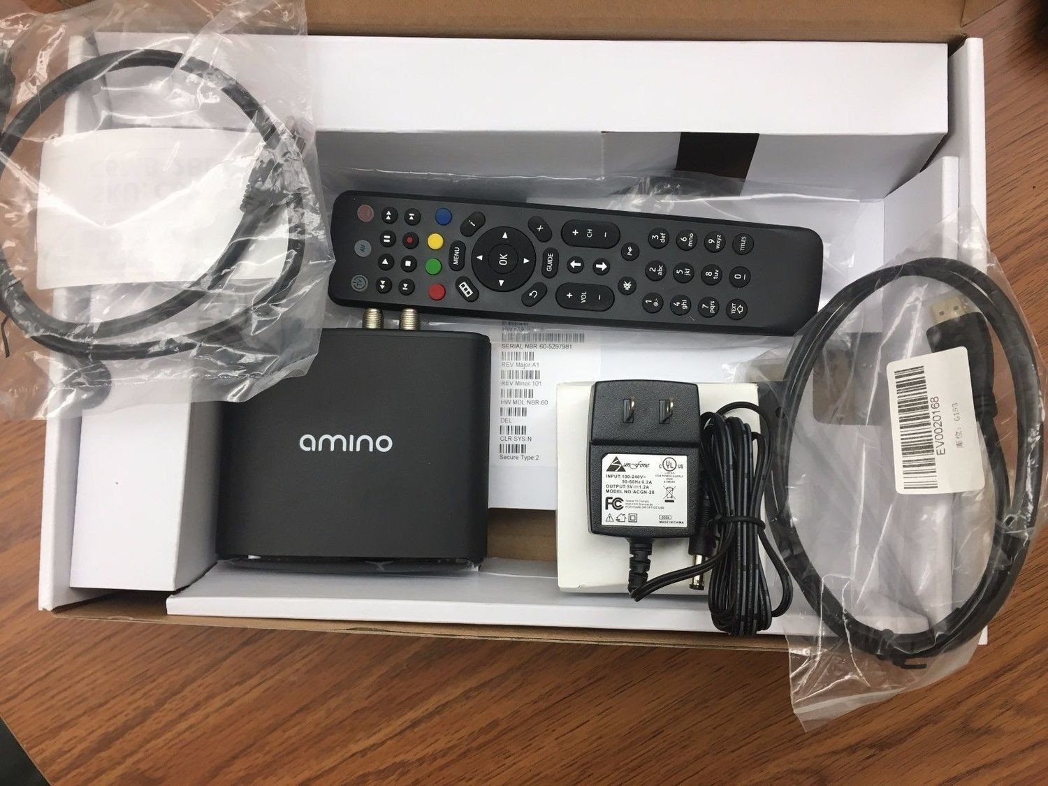 AMINO A140 with Qvidium QV ARQ LICENSE MPEG-2 MPEG-4 1080P HD IP DECODER STB OTT