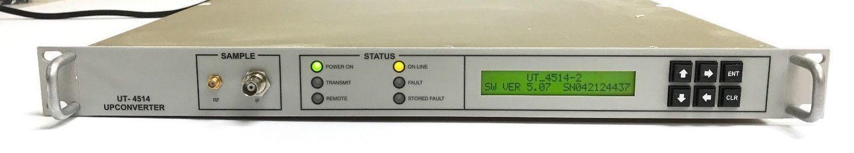 Comtech EF Data 140MHz to Ku-Band Up converter, 14.00-14.50 GHz, Model UT-4514