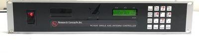 RESEARCH CONCEPTS RCI RC1500HV SATELLITE Mobile VSAT Flyaway Antenna Controller