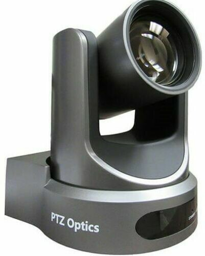 PTZ  Optics 20X-NDI Camera  Gray