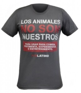Grey Tee with short sleeves and message