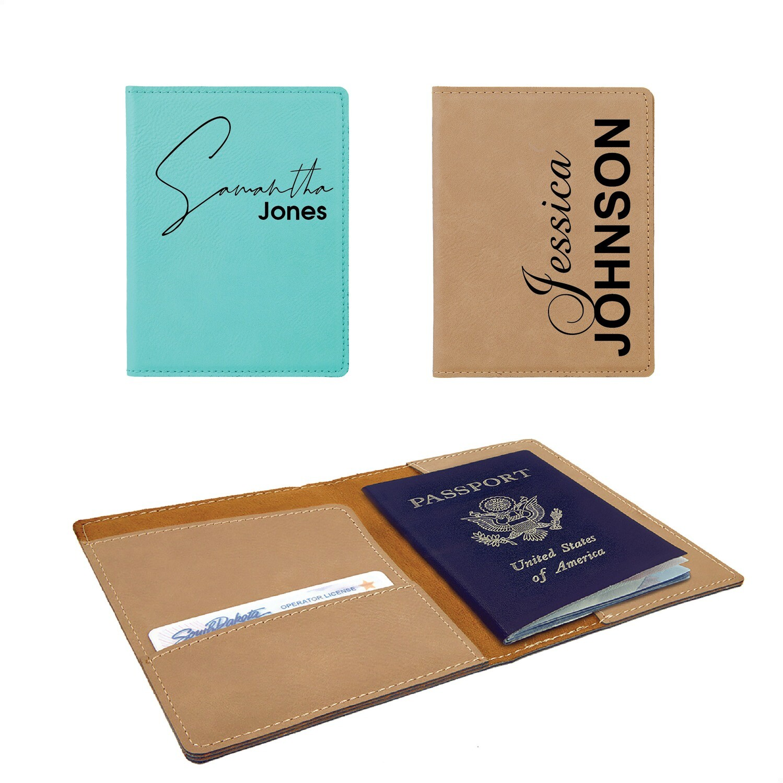 Personalized / Custom Engraved Passport Holders