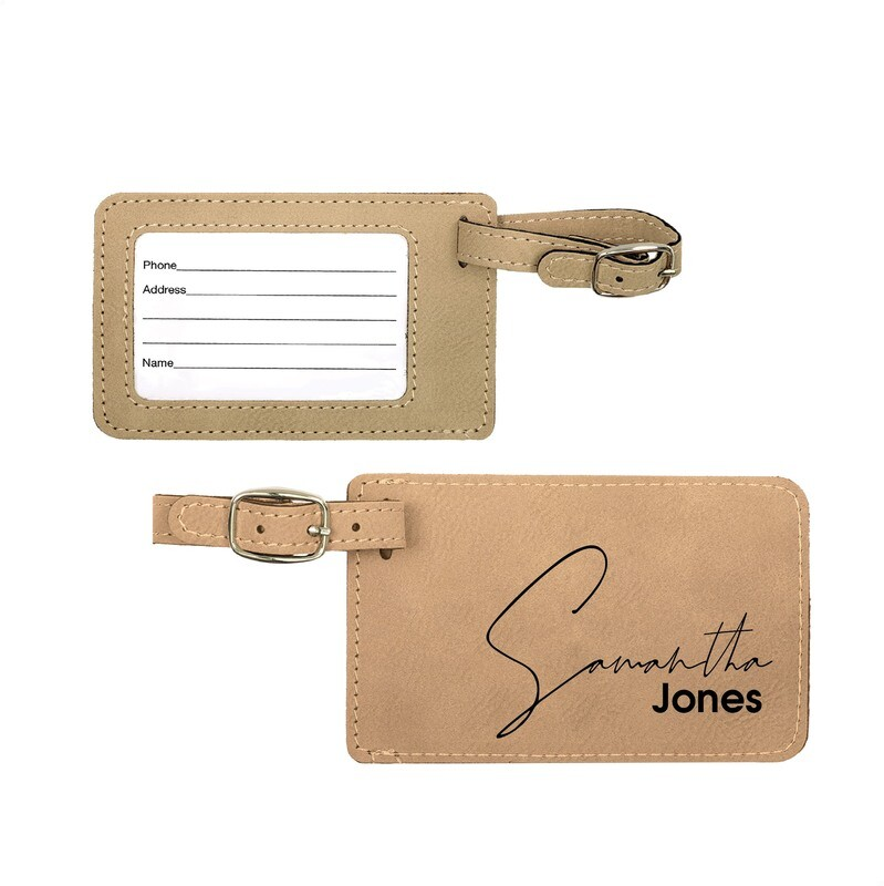 Personalized / Custom Engraved Luggage Tags