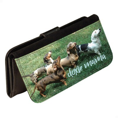 Personalized Photo Leatherette Wallet