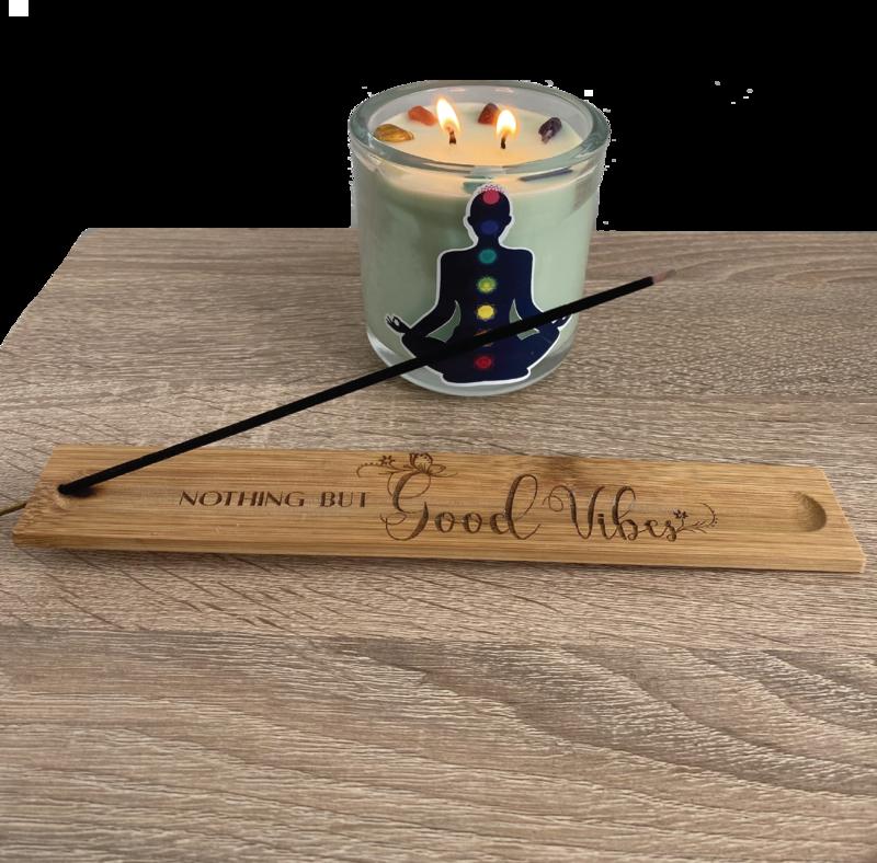 Custom Engraved Incense Stick Holder