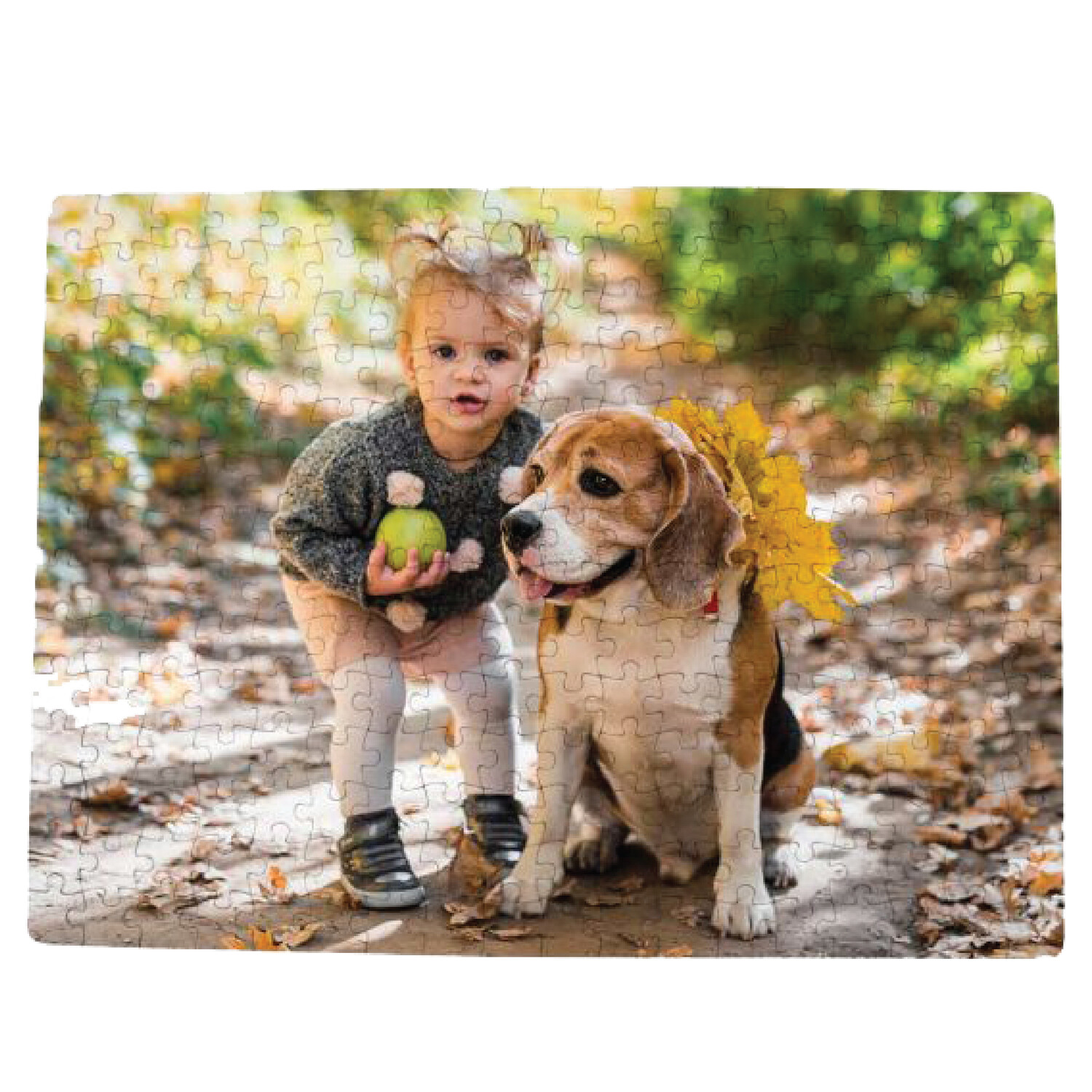 Personalized 252-Pieces Rectangular Shaped Jigsaw puzzle