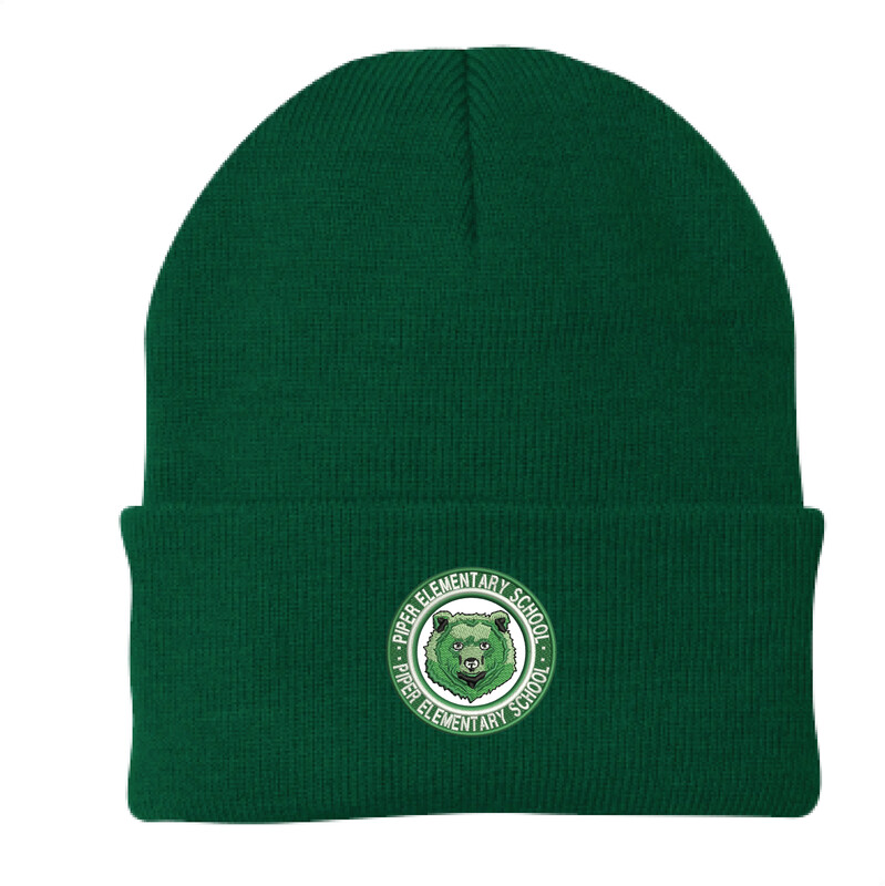 Piper Embroidered Adult Cuffed Beanie
