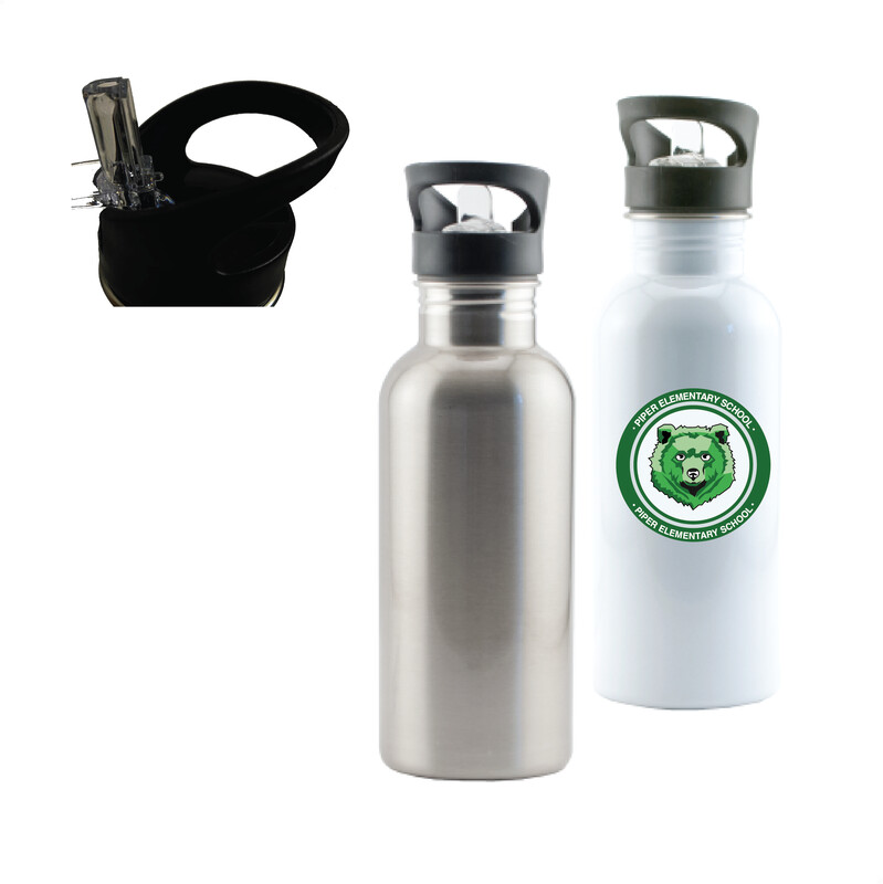 Piper Stainless Steel 20oz. Water Bottle